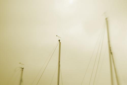 ヨットのマスト