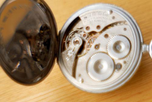 懐中時計/非球面レンズ