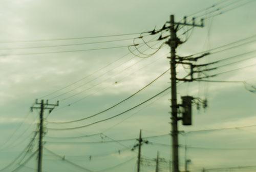 電信柱/非球面レンズ